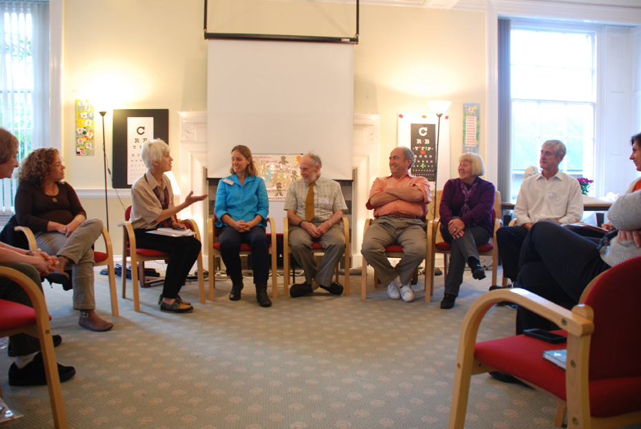 Panel talk at the end of the 2010 conference
